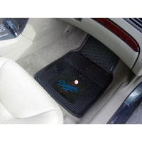 MLB - Los Angeles Dodgers Heavy Duty 2-Piece Vinyl Car Mats
