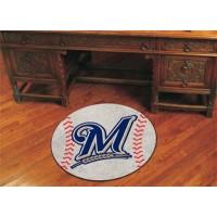 MLB - Milwaukee Brewers Baseball Rug