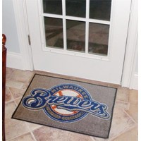 MLB - Milwaukee Brewers Starter Rug