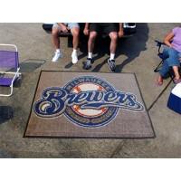MLB - Milwaukee Brewers Tailgater Rug