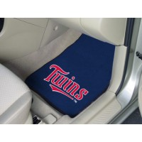 MLB - Minnesota Twins 2 Piece Front Car Mats