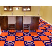 MLB - New York Mets Carpet Tiles