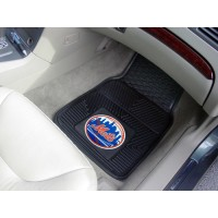 MLB - New York Mets Heavy Duty 2-Piece Vinyl Car Mats