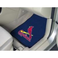 MLB - St Louis Cardinals 2 Piece Front Car Mats