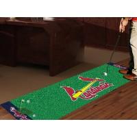 MLB - St Louis Cardinals Golf Putting Green Mat