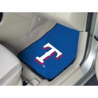 MLB - Texas Rangers 2 Piece Front Car Mats
