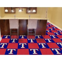 MLB - Texas Rangers Carpet Tiles