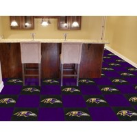 NFL - Baltimore Ravens Carpet Tiles