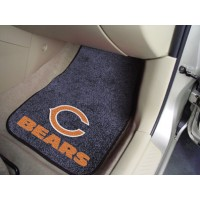 NFL - Chicago Bears 2 Piece Front Car Mats