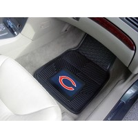 NFL - Chicago Bears Heavy Duty 2-Piece Vinyl Car Mats