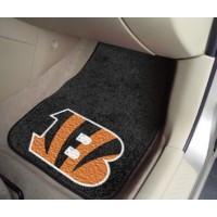 NFL - Cincinnati Bengals 2 Piece Front Car Mats