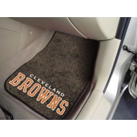 NFL - Cleveland Browns 2 Piece Front Car Mats