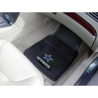 NFL - Dallas Cowboys Heavy Duty 2-Piece Vinyl Car Mats