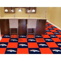 NFL - Denver Broncos Carpet Tiles