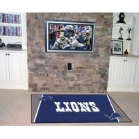 NFL - Detroit Lions  5 x 8 Rug