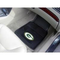 NFL - Green Bay Packers Heavy Duty 2-Piece Vinyl Car Mats