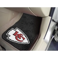 NFL - Kansas City Chiefs 2 Piece Front Car Mats
