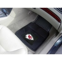 NFL - Kansas City Chiefs Heavy Duty 2-Piece Vinyl Car Mats