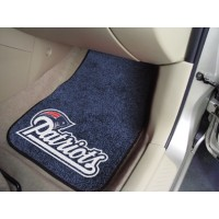 NFL - New England Patriots 2 Piece Front Car Mats