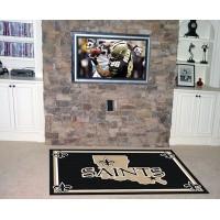 NFL - New Orleans Saints 4 x 6 Rug