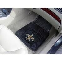 NFL - New Orleans Saints Heavy Duty 2-Piece Vinyl Car Mats