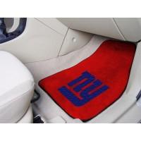 NFL - New York Giants 2 Piece Front Car Mats