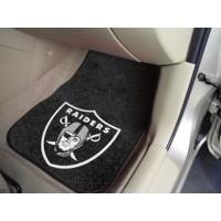 NFL - Oakland Raiders 2 Piece Front Car Mats