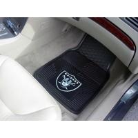 NFL - Oakland Raiders Heavy Duty 2-Piece Vinyl Car Mats