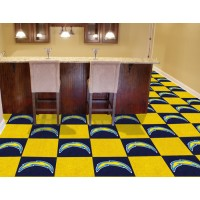 NFL - San Diego Chargers Carpet Tiles