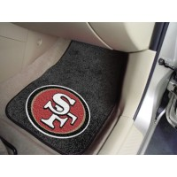 NFL - San Francisco 49ers 2 Piece Front Car Mats