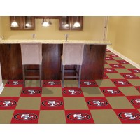 NFL - San Francisco 49ers Carpet Tiles