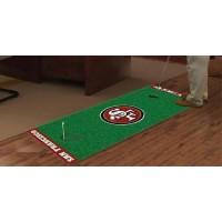 NFL - San Francisco 49ers Golf Putting Green Mat