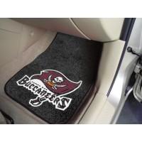 NFL - Tampa Bay Buccaneers 2 Piece Front Car Mats