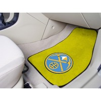 NBA - Denver Nuggets 2 Piece Front Car Mats