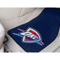 NBA - Oklahoma City Thunder 2 Piece Front Car Mats