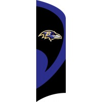 TTBA Ravens Tall Team Flag