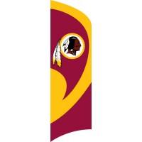 TTWA Redskins Tall Team Flag