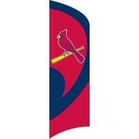 TTSTL CARDINALS Tall Team Flag