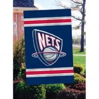 AFNET New Jersey Nets 44x28 Applique Banner