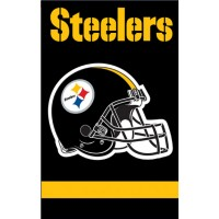 AFST Steelers 44x28 Applique Banner