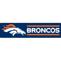 BDB Broncos Giant 8-Foot X 2-Foot Nylon Banner