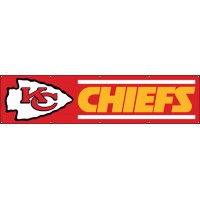 BKC Chiefs Giant 8-Foot X 2-Foot Nylon Banner