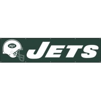 BJE Jets Giant 8-Foot X 2-Foot Nylon Banner