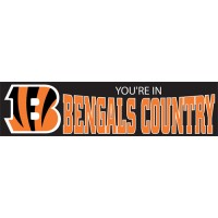 BBEC Bengals Country  Giant 8 foot x 2 foot banner