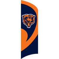 TTCH Bears Tall Team Flag with pole