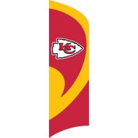TTKC Chiefs Tall Team Flag with pole