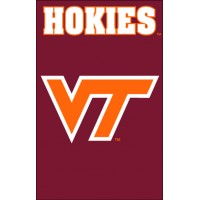AFVT Virgina Tech 44x28 Applique Banner