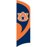 TTAU Auburn Tall Team Flag with pole