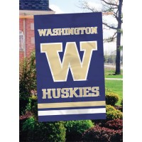 AFWS University of Washington 44x28 Applique Banner