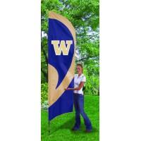 TTWS Washington State Tall Team Flag with pole